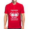 Two beer Mens Polo