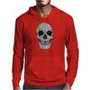 Two Colour Skull Buggery Mens Hoodie