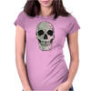 Two Colour Skull Buggery Womens Fitted T-Shirt
