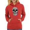 Two Colour Skull Buggery Womens Hoodie