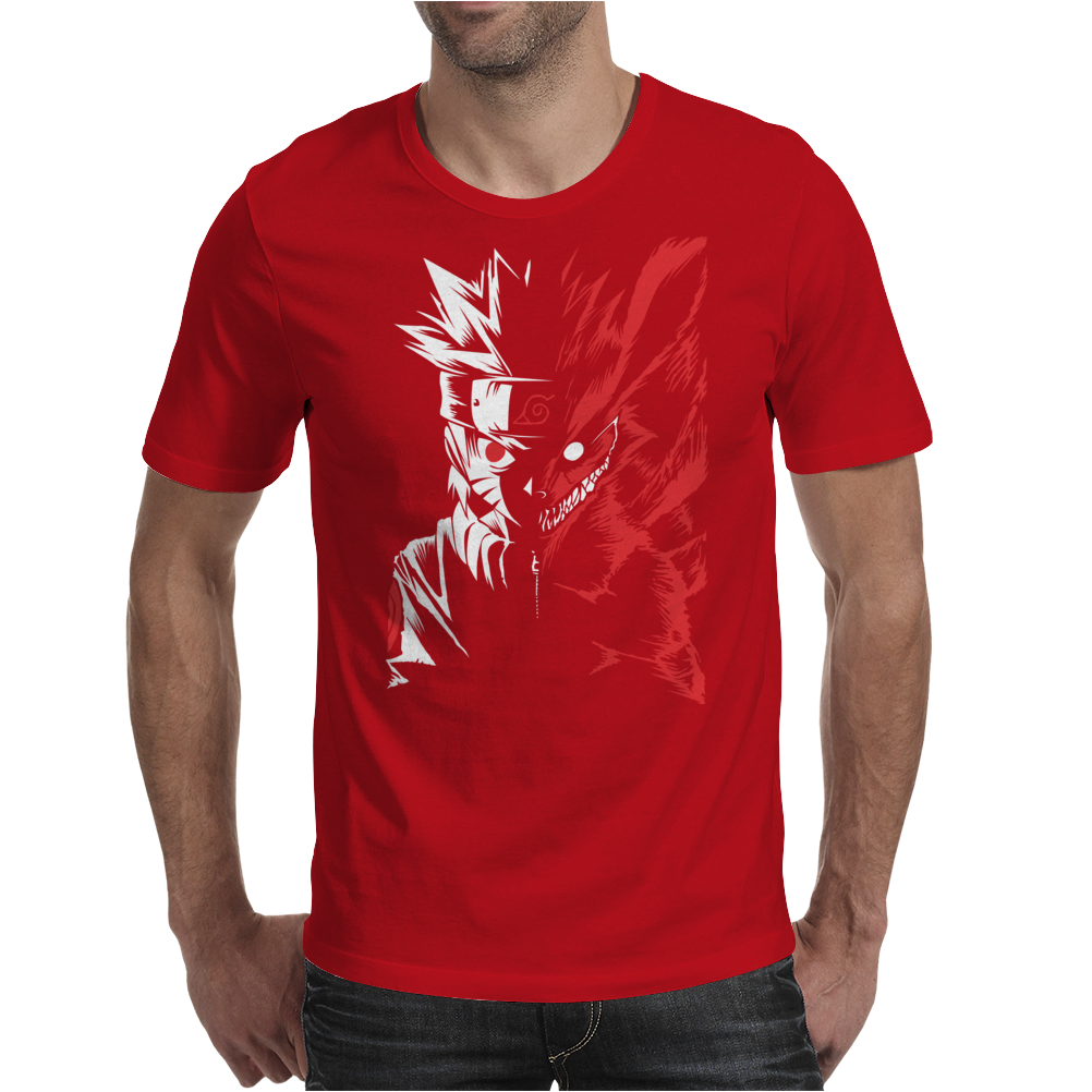 Two Face Mens T-Shirt