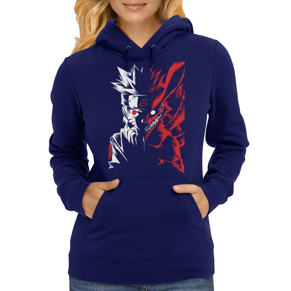 Two Face Womens Hoodie