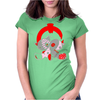 Two heads are stranger than one Womens Fitted T-Shirt