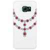 Two Row Ruby Necklace Phone Case