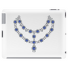 Two Row Sapphire Necklace Tablet