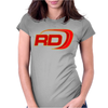 Two Stroke Rd Womens Fitted T-Shirt
