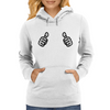 Two Thumbs Up Womens Hoodie