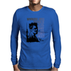 Tyler durden the fight club Blue Mens Long Sleeve T-Shirt
