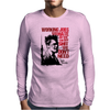 Tyler durden the fight club Red Mens Long Sleeve T-Shirt