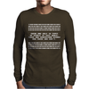 Types Of People Understand Binary Code Mens Long Sleeve T-Shirt