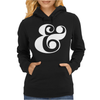 typography Womens Hoodie