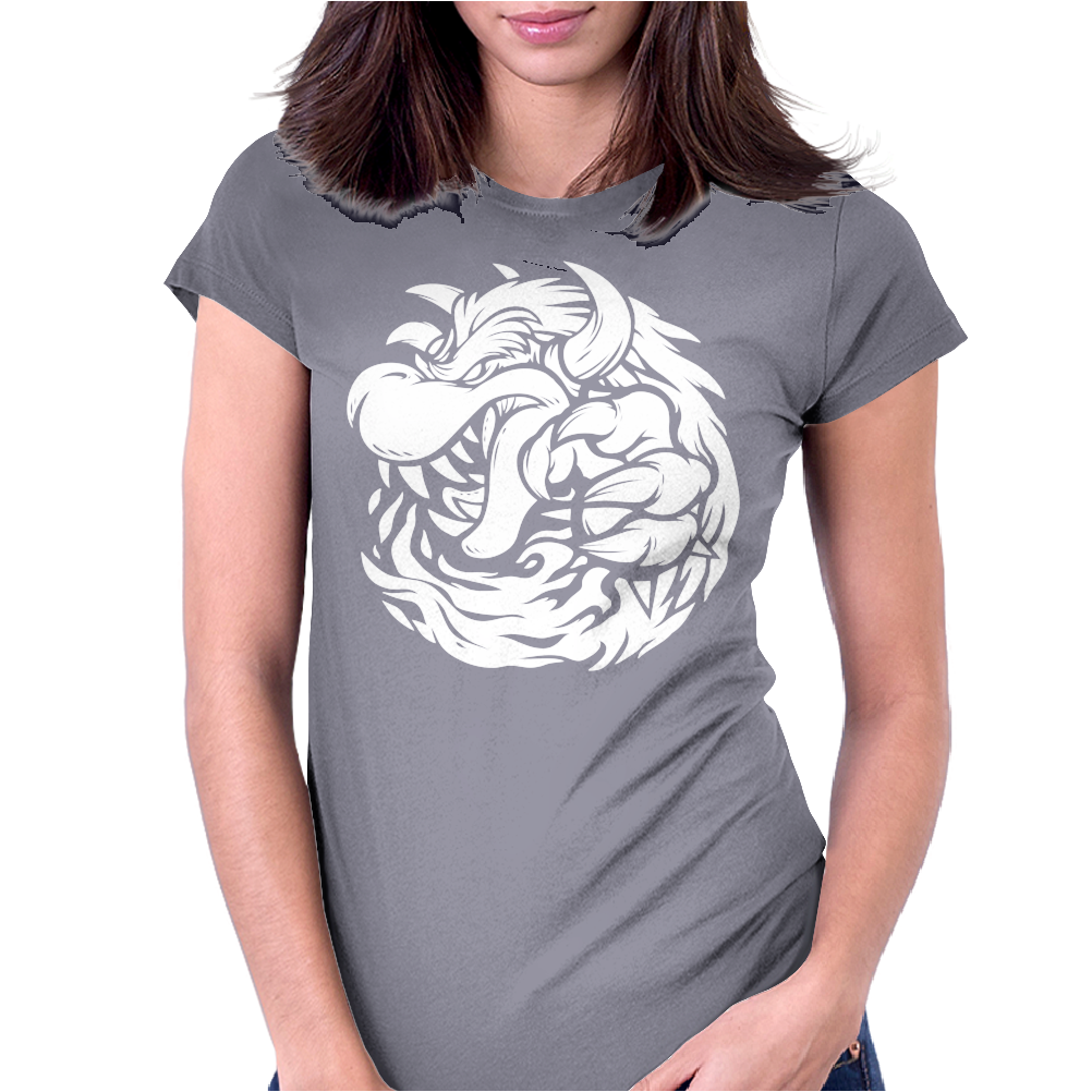 Tyrant Koopa Womens Fitted T-Shirt