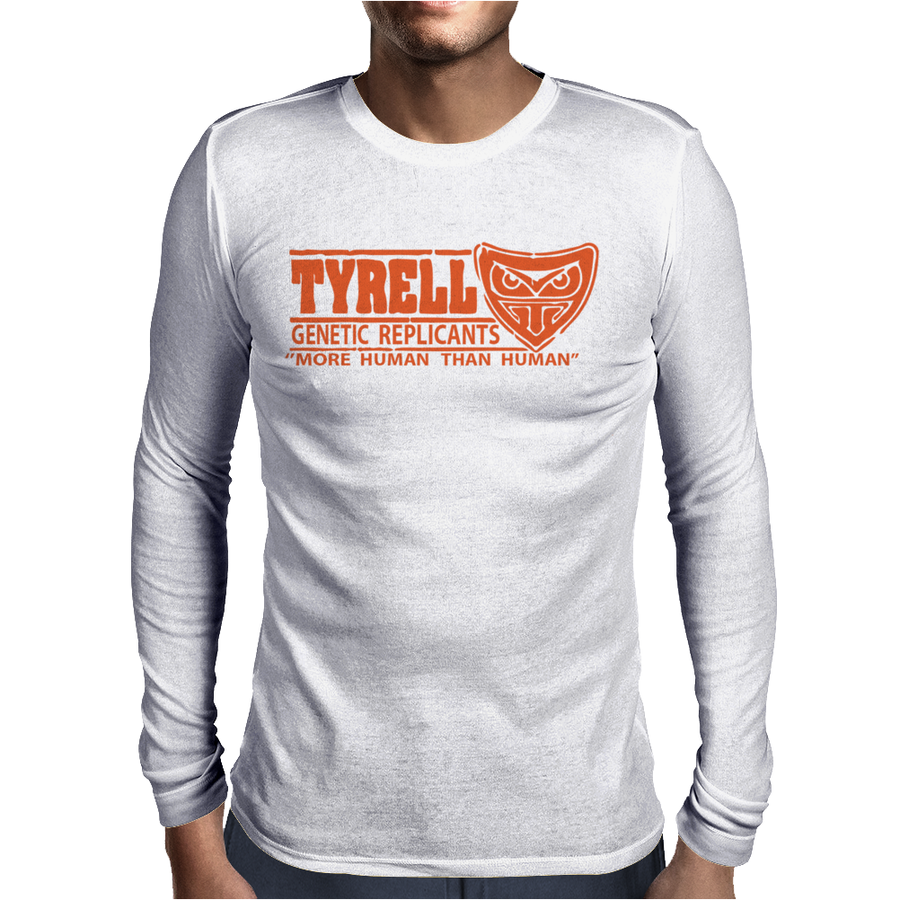Tyrell Genetic Replicants Mens Long Sleeve T-Shirt