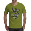 TYRION LANNISTER GAME OF THRONES DRINK AND I KNOW THINGS Mens T-Shirt