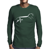 Uffington Horse Mens Long Sleeve T-Shirt