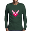 UFO Angel Heart II Mens Long Sleeve T-Shirt