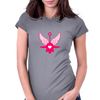 UFO Angel Heart II Womens Fitted T-Shirt