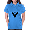 UFO Angel Heart Womens Polo