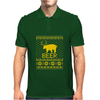 Ugly Sweater Party Beer Bear Funny Mens Polo