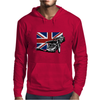 Uk Speedway Racing Mens Hoodie