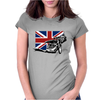 Uk Speedway Racing Womens Fitted T-Shirt
