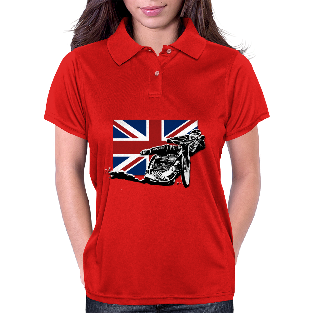 Uk Speedway Racing Womens Polo