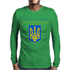 Ukraine Coat Of Arms Mens Long Sleeve T-Shirt