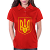 Ukrainian Ukraine Coat Of Arms Country Flag Womens Polo