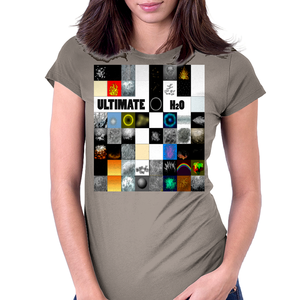 ultimate H2O Womens Fitted T-Shirt