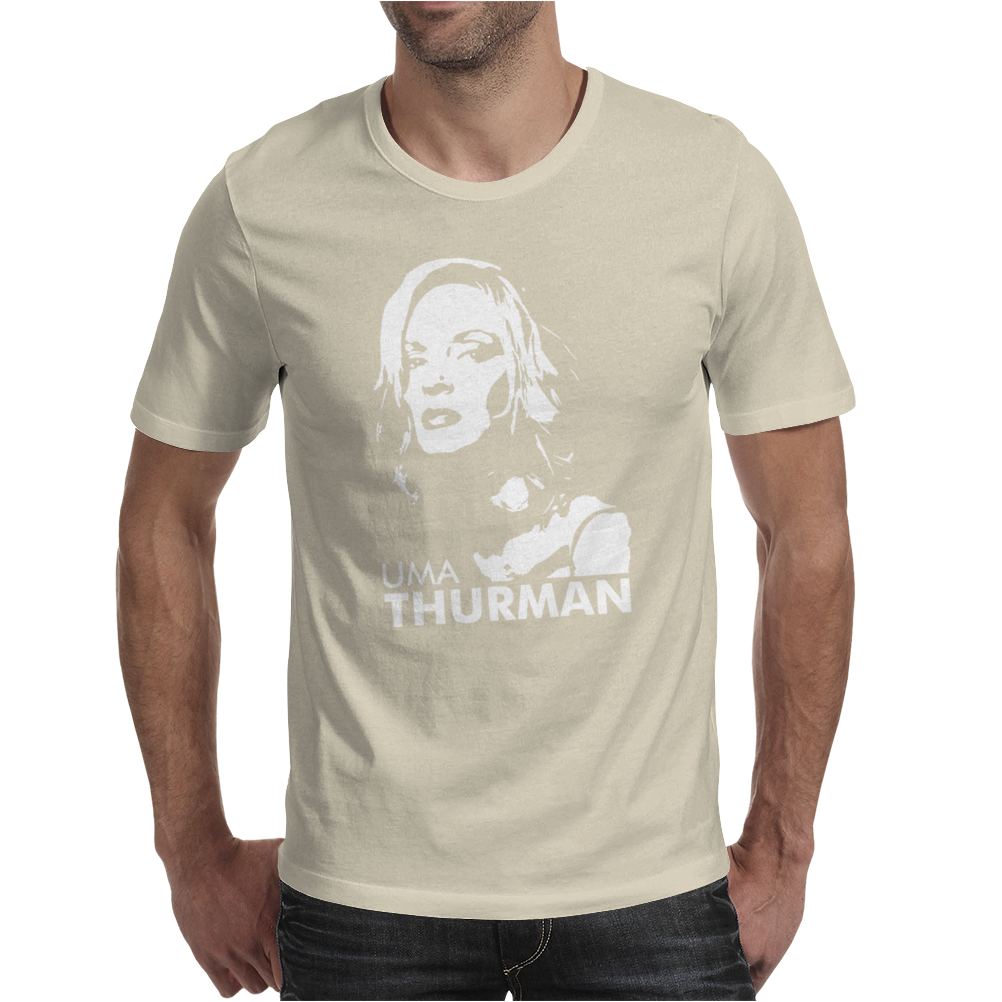 Uma Thurman Mens T-Shirt