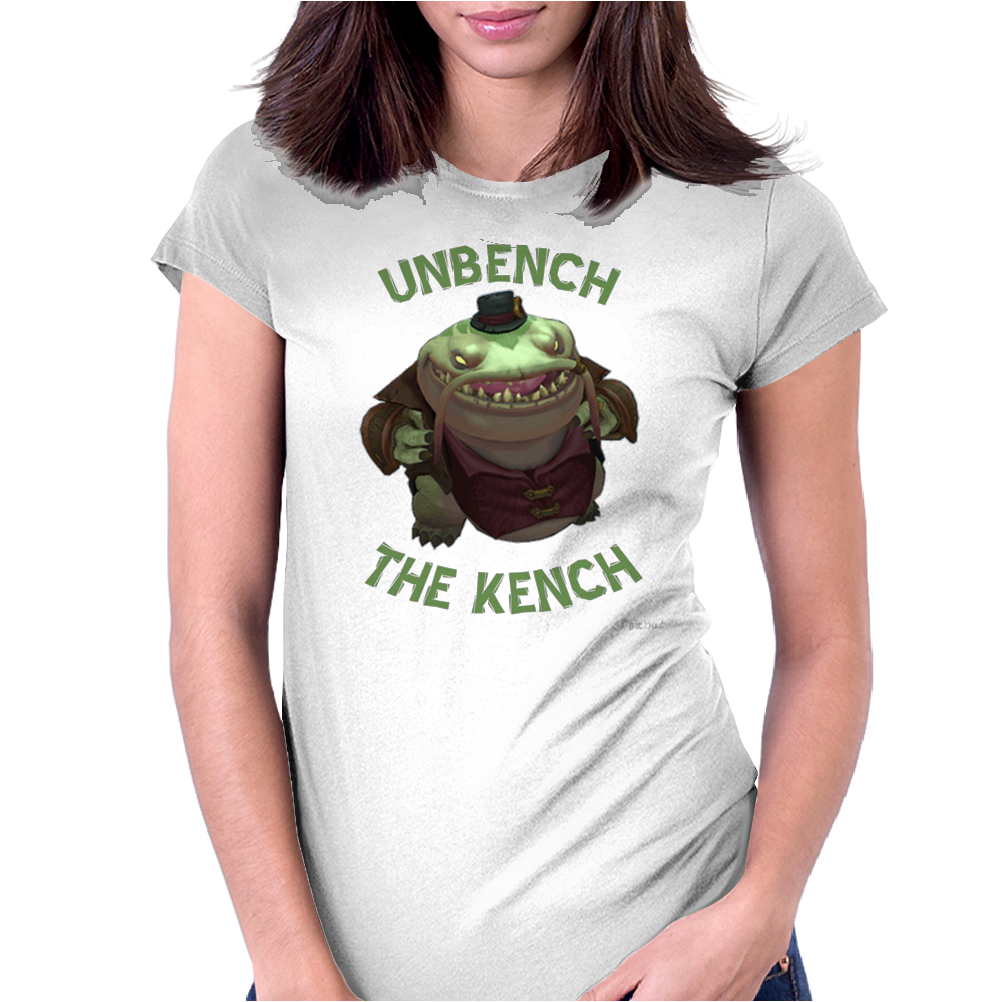 UNBENCH THE KENCH Womens Fitted T-Shirt