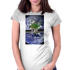 Unbuckled: You are Now Free To Move About The Planet Womens Fitted T-Shirt