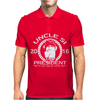 Uncle Si For President Mens Polo