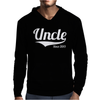 Uncle Since 2013 Mens Hoodie