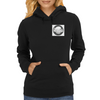Undead with Wings Womens Hoodie