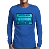 UNDEAD ZONE (BLUE) Mens Long Sleeve T-Shirt