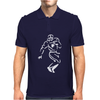 Undefeated Stencil Football Mens Polo