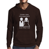 Under new management - Just Married Mens Hoodie