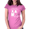 Under new management - Just Married Womens Fitted T-Shirt