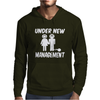 Under New Management Stag Night Wedding Mens Mens Hoodie
