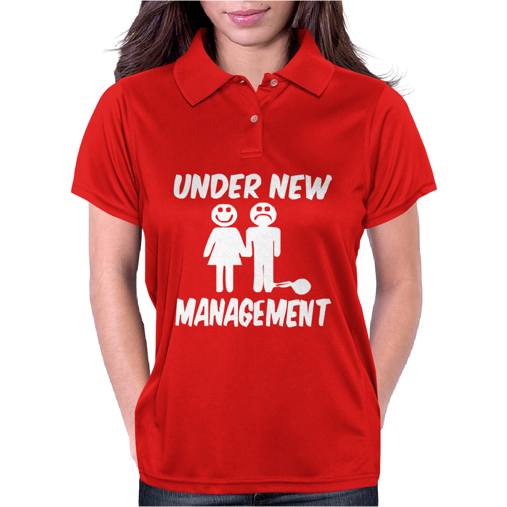 Under New Management Stag Night Wedding Mens Womens Polo
