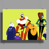 Undertale Cartoon Style Poster Print (Landscape)