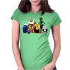 Undertale Cartoon Style Womens Fitted T-Shirt