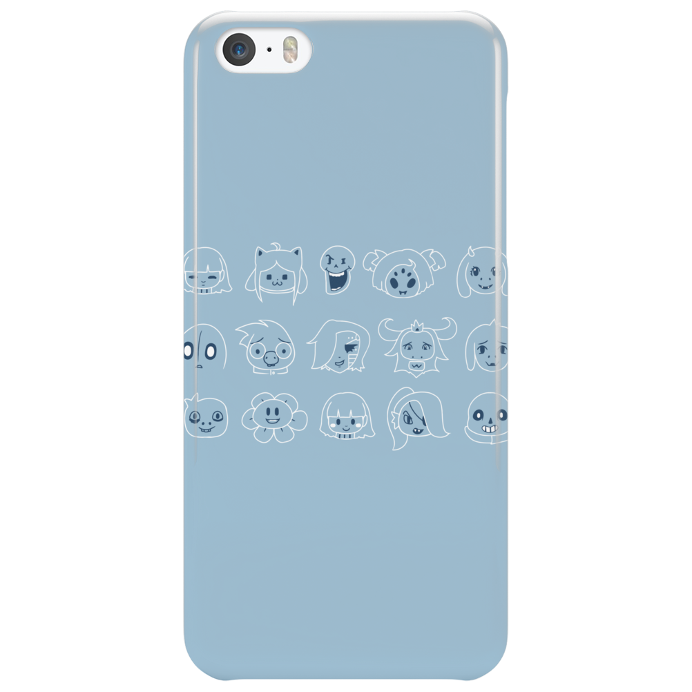 Undertale drawing Phone Case