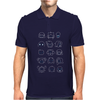 Undertale drawing v2 Mens Polo