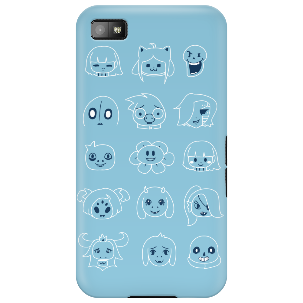 Undertale drawing v2 Phone Case