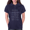 Undertale drawing v2 Womens Polo