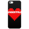 Undertale heart pixel Phone Case