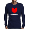 Undertale (Love) Mens Long Sleeve T-Shirt