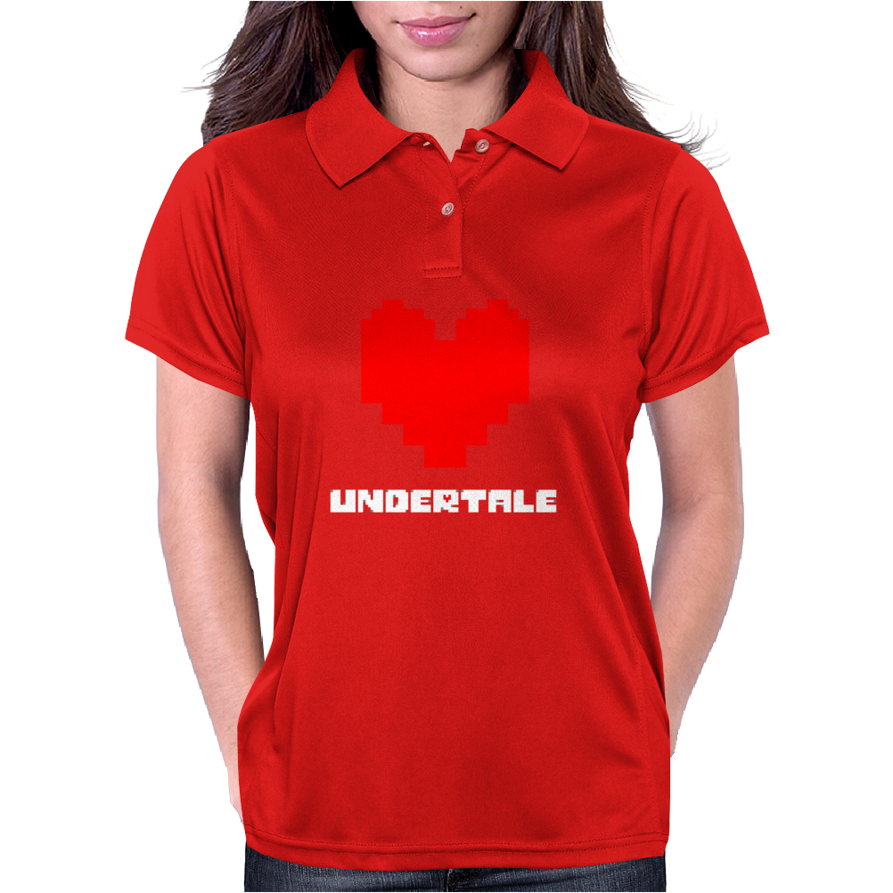 Undertale (Love) Womens Polo